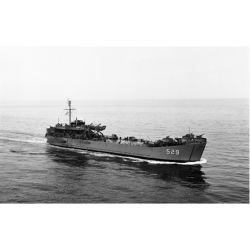 USS Cayuga County LST-529